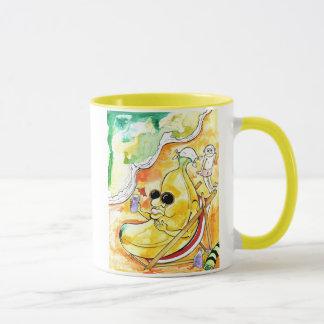 beach banana mug