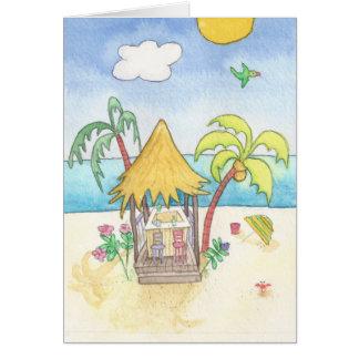 Beach Bar Card