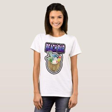 Beach Themed Beach Bar T-Shirt