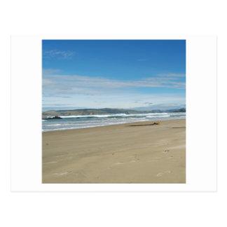 beach basic - square postcard