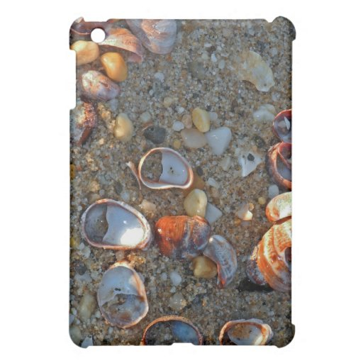 Beach Baubles in Late Day Sun iPad Mini Cases