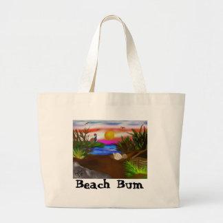 Beach Bay Escape Jumbo Tote Bag