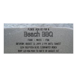 Beach BBQ Party Invitations
