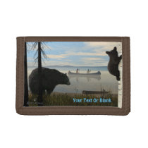Beach Bears Tri-fold Wallet