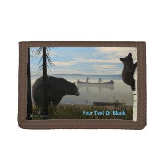 Beach Bears Tri-fold Wallet