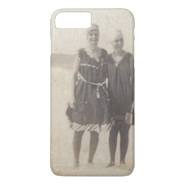 Beach Themed Beach Beauties 1920s Vintage Photograph iPhone 7 Plus Case