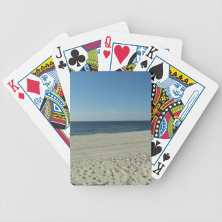Beach Beauty Bicycle Playing Cards