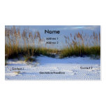 Beach Beauty Double-Sided Standard Business Cards (Pack Of 100)
