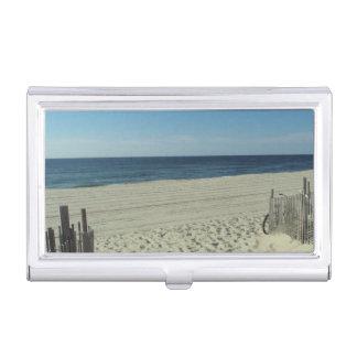 Beach Beauty Business Card Case