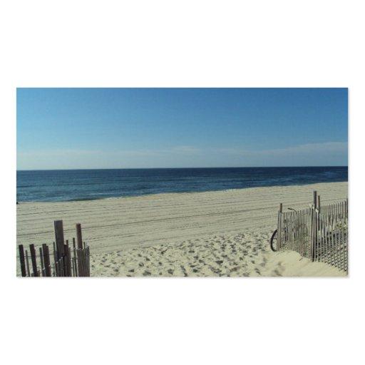 Beach Beauty Business Card Templates