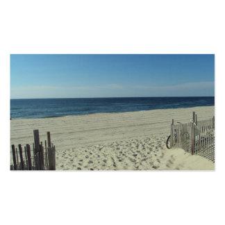 Beach Beauty Business Cards