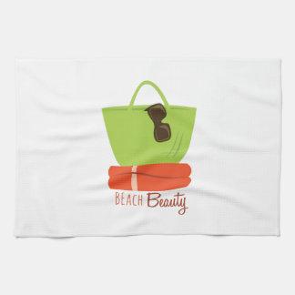 Beach Beauty Kitchen Towels