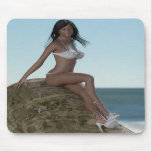 Beach Beauty Marie Mousepad