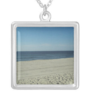 Beach Beauty Silver Plated Necklace