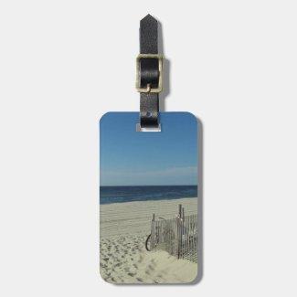 Beach Beauty Travel Bag Tag