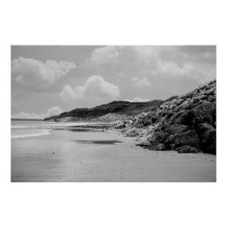 beach beside the links poster