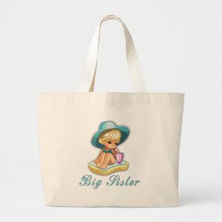 Beach Big Sister Tote Bag