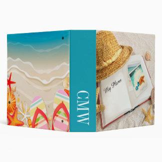 Beach Binder Notebook