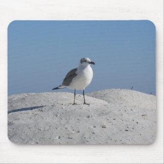 Beach Bird Mouse Pad