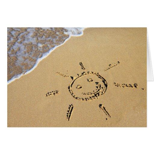 Birthday Card Sayings Beach : Beach birthday greeting card zazzle
