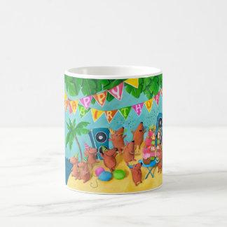 Beach Birthday Party Coffee Mug