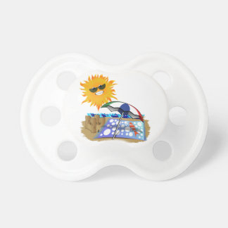 Beach Blanket And Sun Baby Pacifiers
