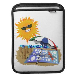 Beach Blanket And Sun iPad Sleeve