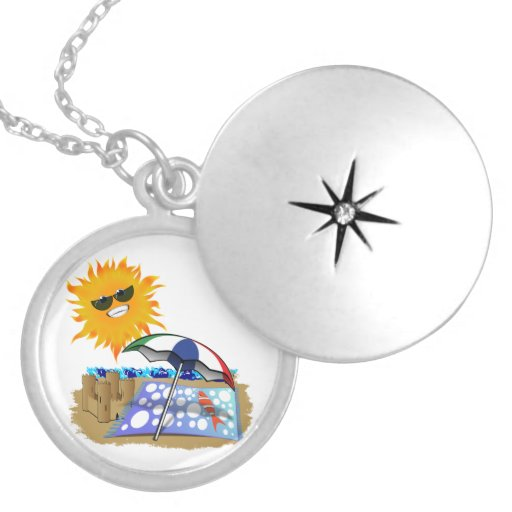 Beach Blanket And Sun Necklaces