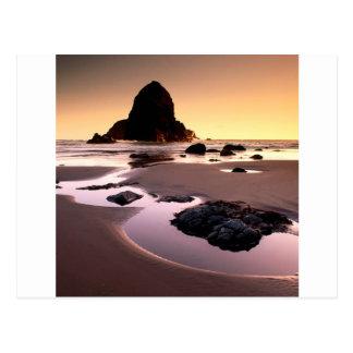 Beach Boardman Brookings Harbor Post Card