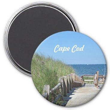 Beach Themed Beach boardwalk magnet