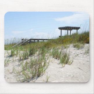 Beach Boardwalk Mouse Pad