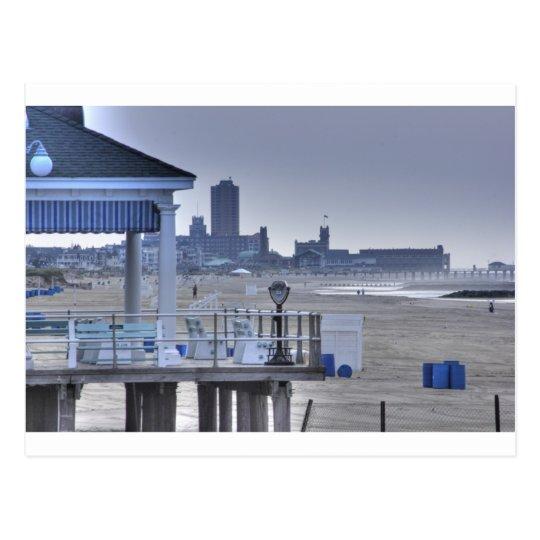 Beach Boardwalk Seaview Beaches HDR Postcard
