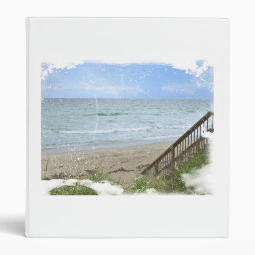 beach boardwalk steps grunge scratch binders