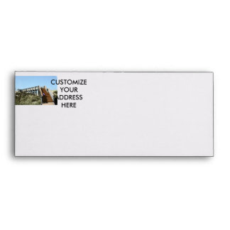 Beach Boardwalk with girl, Florida Cape san blas Envelope