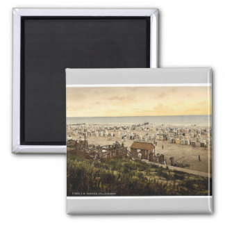Beach, Borkum, Schleswig-Holstein, Germany rare Ph Magnet