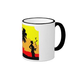 beach bot ringer mug