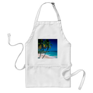 Beach Bottom Bay Barbados Adult Apron