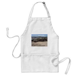 Beach Boulders Adult Apron
