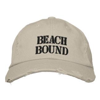 Beach Bound Embroidered Baseball Hat