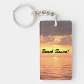 Beach Bound Keychain! Keychain