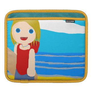 beach boy iPad sleeve