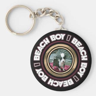 Beach Boy Key Chain