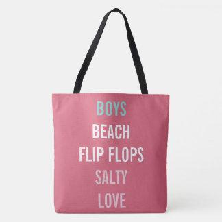 Beach Boys Summer Lovin Nantucket Red Tote Bag