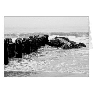 Beach Breakwater - Medium Card