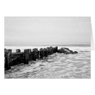 Beach Breakwater - Wide Card