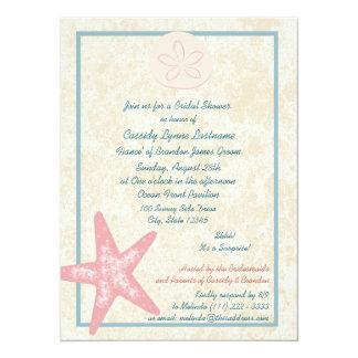 Beach Bridal Shower Card