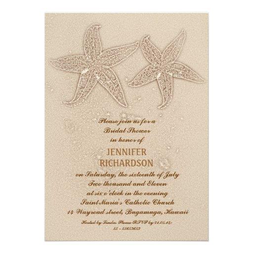 Wedding Invitation Wording Beach Wedding Shower Invitation Wording