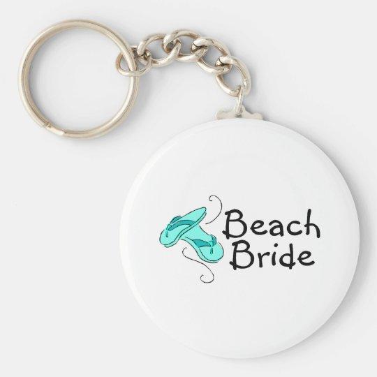 Beach Bride (Beach Wedding) Keychain
