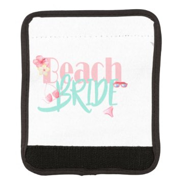 Beach Themed beach-bride-blue.gif luggage handle wrap