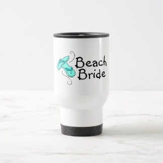Beach Bride (Flip Flop) 15 Oz Stainless Steel Travel Mug
